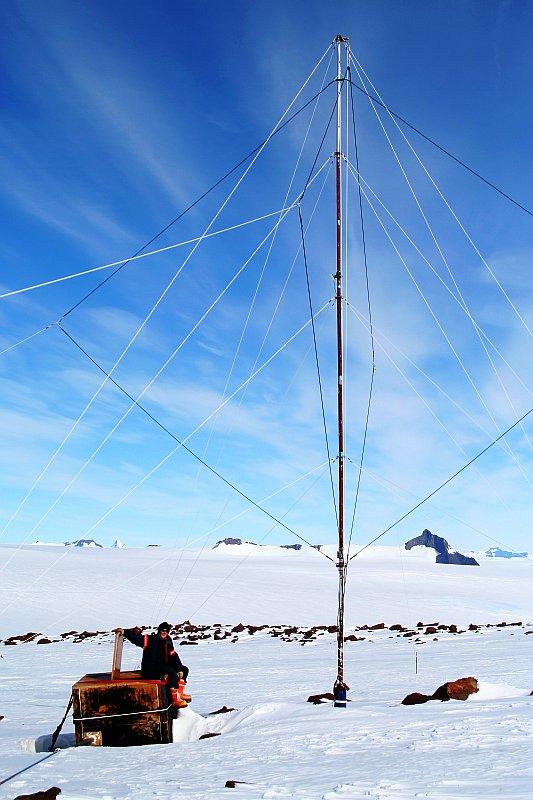 SANAE VLF Antenna